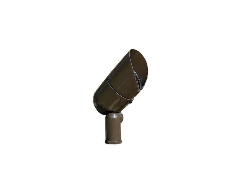 Accent, Aluminum Bullyte w/ Stake & Lamp, Verde, 50W MR16, 12V