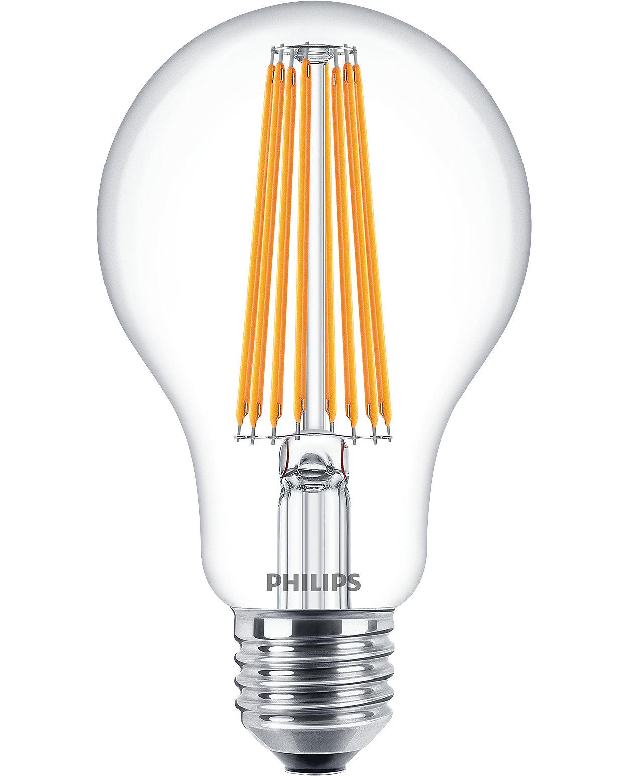 Klasické žárovky LEDbulb pro dekorativní osvětlení