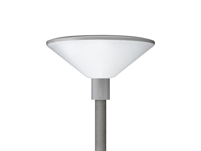 TownGuide Performer BDP102 pedestian luminaire with frosted bowl