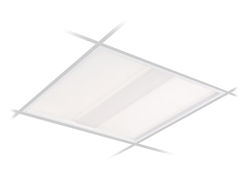 VersaForm Recessed 2'x2' LED, 3000 lm, CRI 90 3500K Direct, Beam Shaping Light Guide with Stepped Diffuser