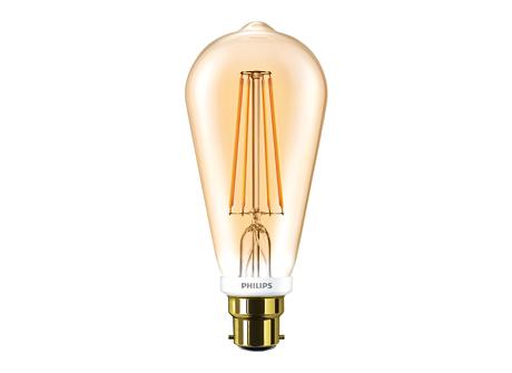 CLA LEDBulb D 7-50W ST64 B22 820 GOLD