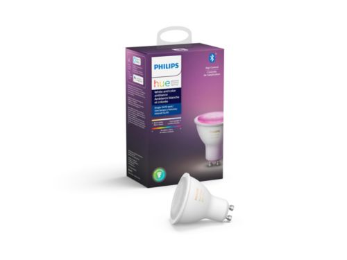 Hue White and color ambiance 1-pack GU10