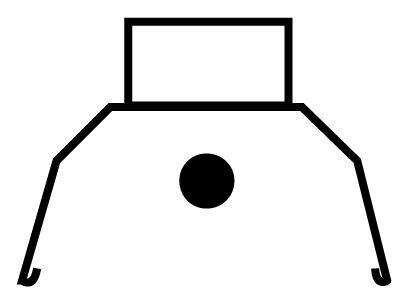 4', Symmetrical Silverado Reflector (For