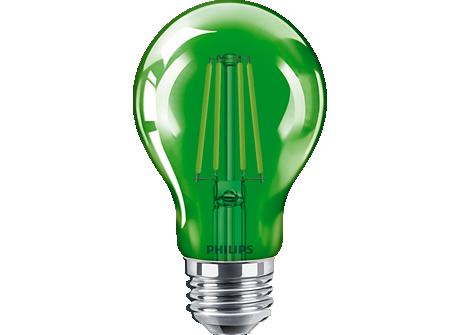 4A19/LED/GREEN/G/E26/ND 6/1BC
