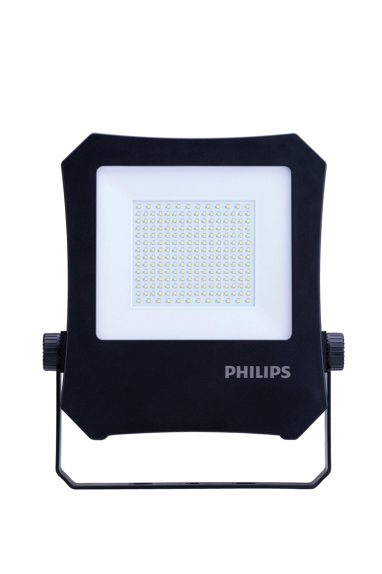 Iluminação LED com grande eficiência energética.
