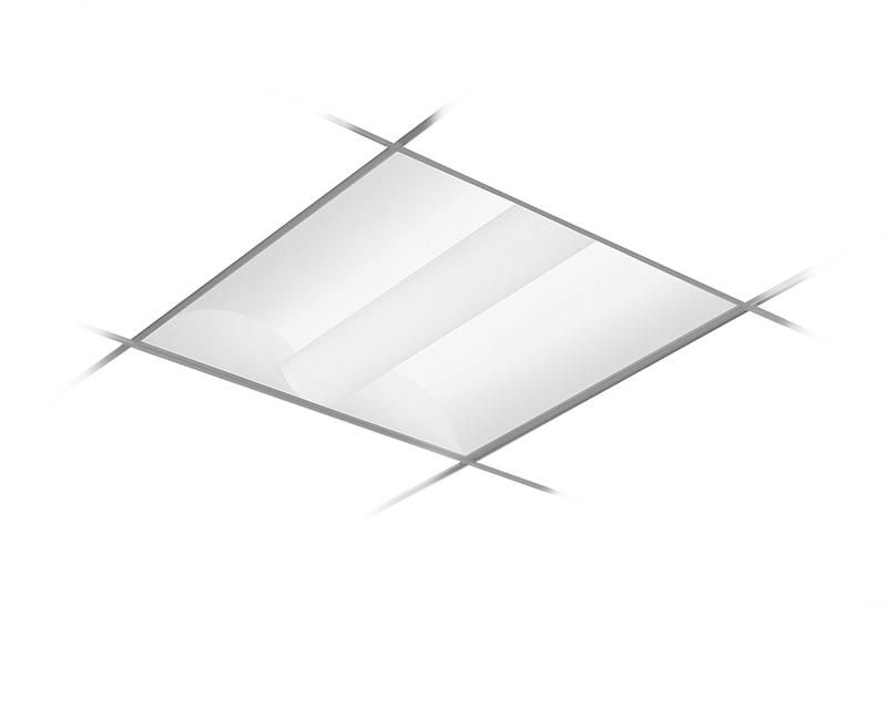 2x2, 3800 Nominal Delivered Lumens, 3500K, Frosted Acrylic Lens