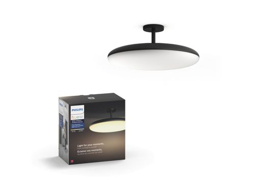 Hue White ambiance Cher semi-flushmount light