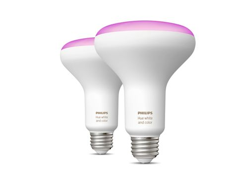 Hue White and color ambiance 2-pack BR30 E26