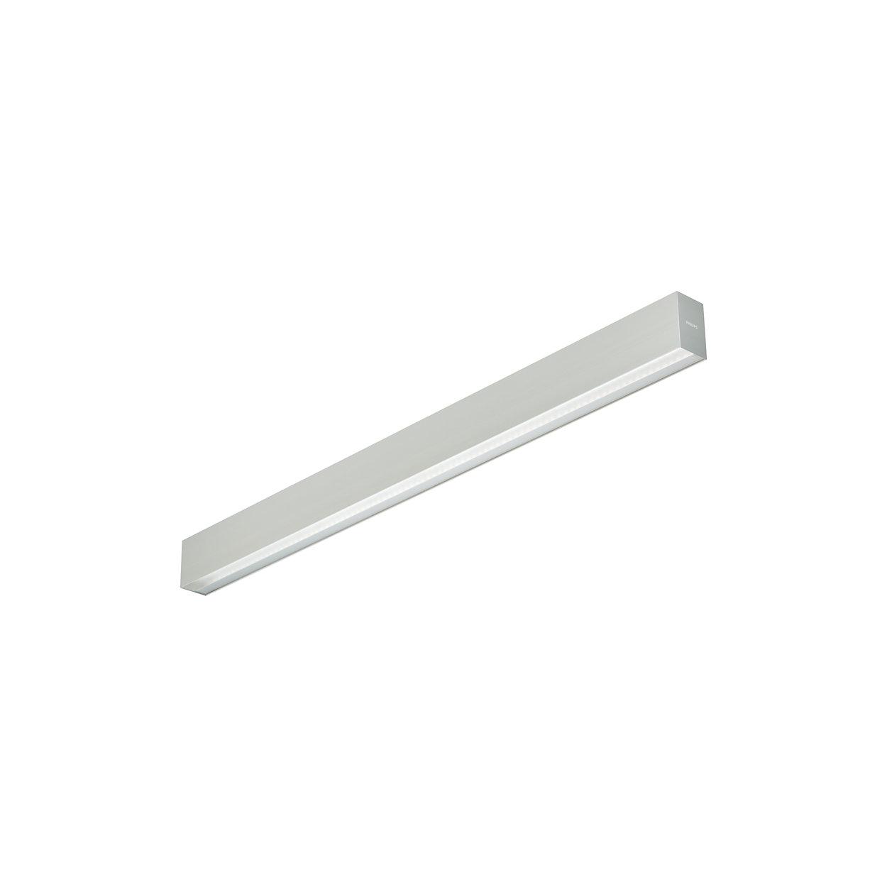 Kaarsrechte elegante lijn van licht, energiezuinig en voldoet volledig aan de kantoorverlichtingsnormen
