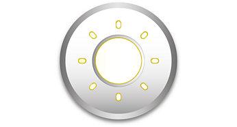 Luz intensa em design compacto