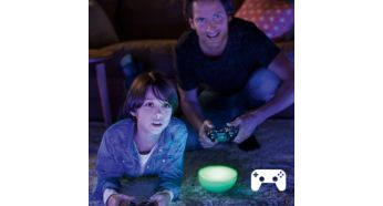 Osvetlite si igranje iger