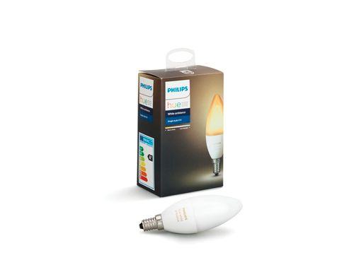 Hue White Ambiance Single Bulb E14