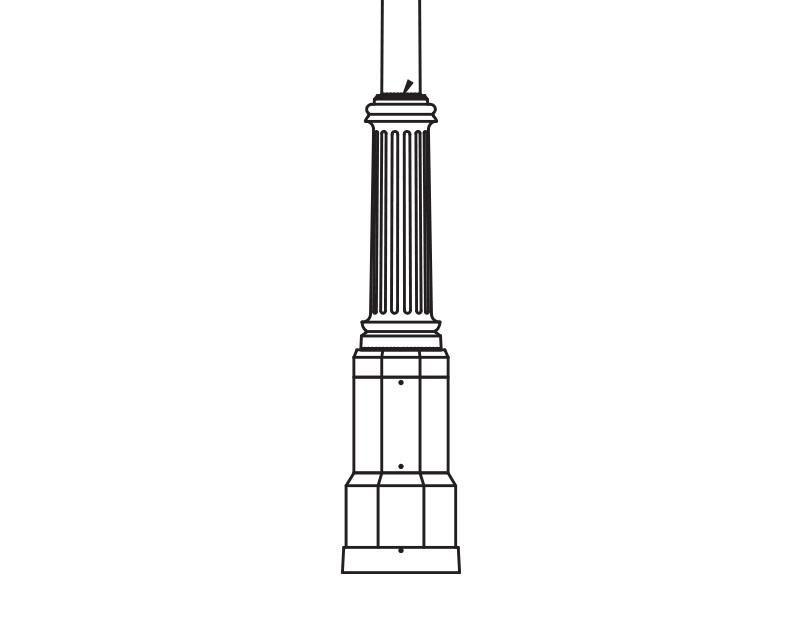 Anchor Base Post (316-)