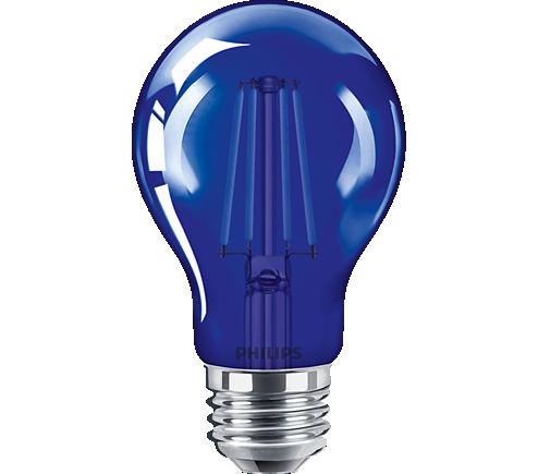 4A19/LED/BLUE/G/E26/ND 6/1BC