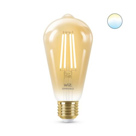 Filament amber ST64 E27