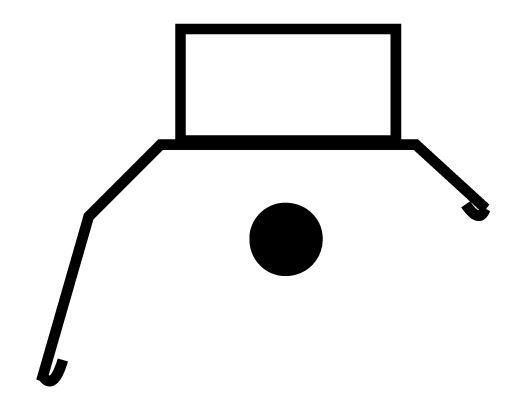 2', Asymmetrical Silverado Reflector (For