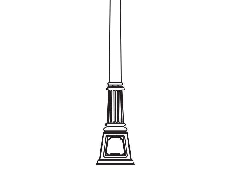 Anchor Base Post (327-)