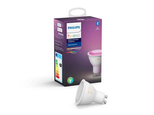 Hue White and Colour Ambiance 1-pack GU10
