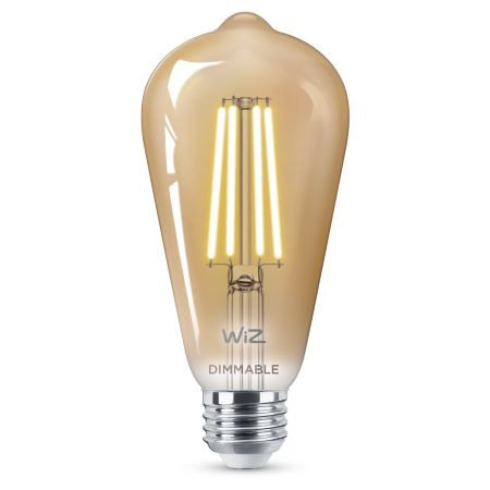 Filament amber ST19 dimmable E26