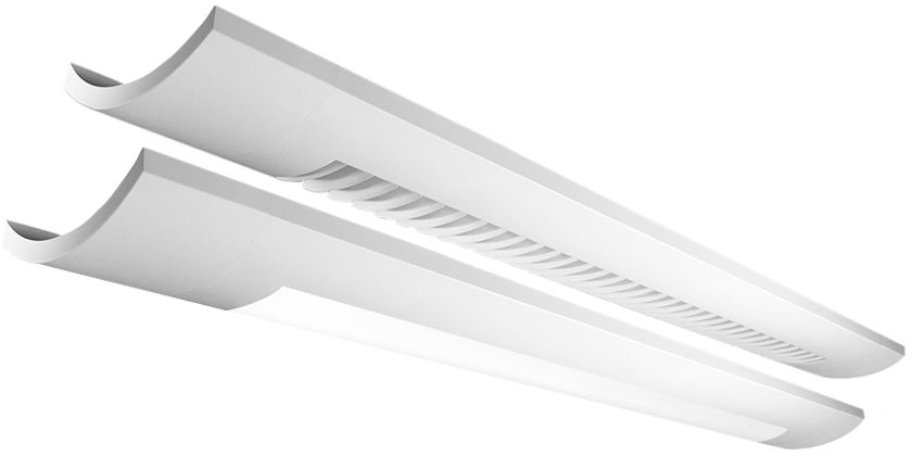 Sona 1LC Up wall LED, 2100 lm/4ft, 3000/3500/4000K Indirect/Direct Asymmetric, Acrylic Diffusers - Acrylic Diffuser (70% Up)