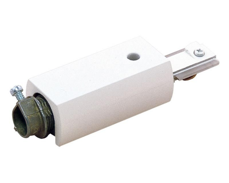 Radius Surface Feed Connector Matte White