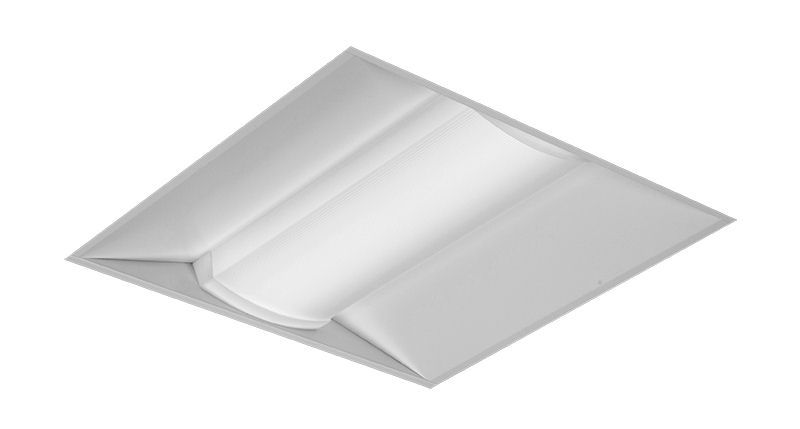 2x2 Tunable White, 3200 Nominal Delivered Lumens, 80 CRI, 2700-6500K, Diffuse (Smooth)