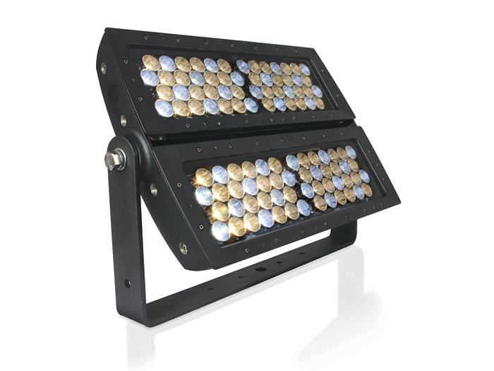 iW Reach Powercore floodlighting LED fixture
