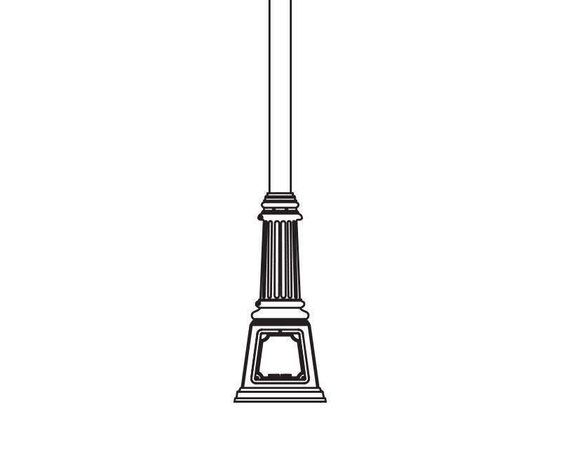 Anchor Base Post (387-)