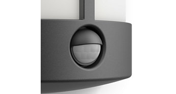Motion sensor included, for convenience and reassurance