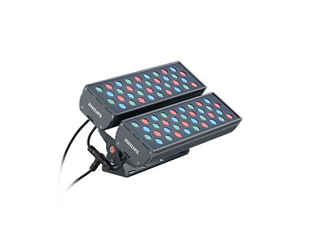 BVP341 72LED RGB 220V L45 8 DMX