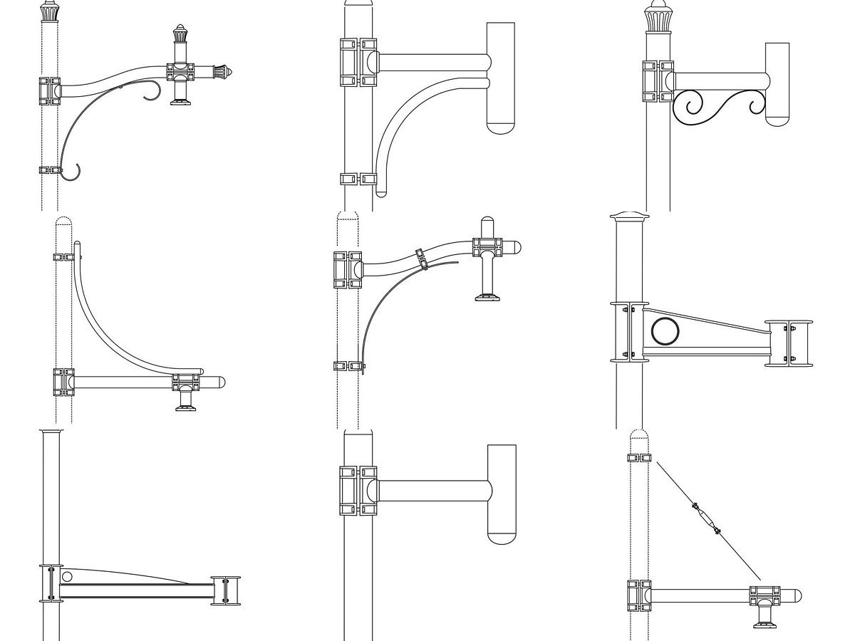 Clamp-on Brackets