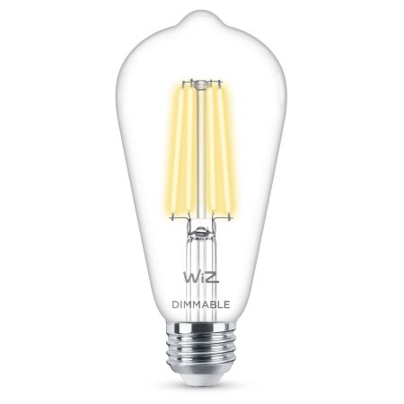 Filament clear ST19 dimmable E26