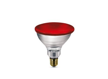 PAR38 IR 175W E27 240V Red 1CT/12