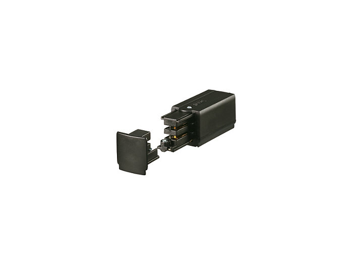 Power supply connector end left