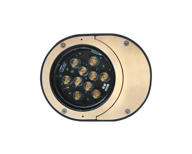 Inground, 12W LED, Linear Spread Lens, 4000K, 120V