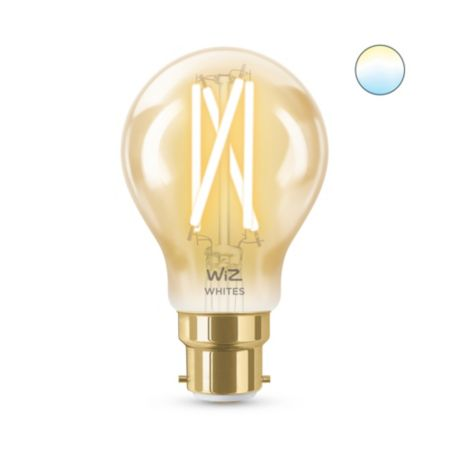 Filament ambre A60 B22