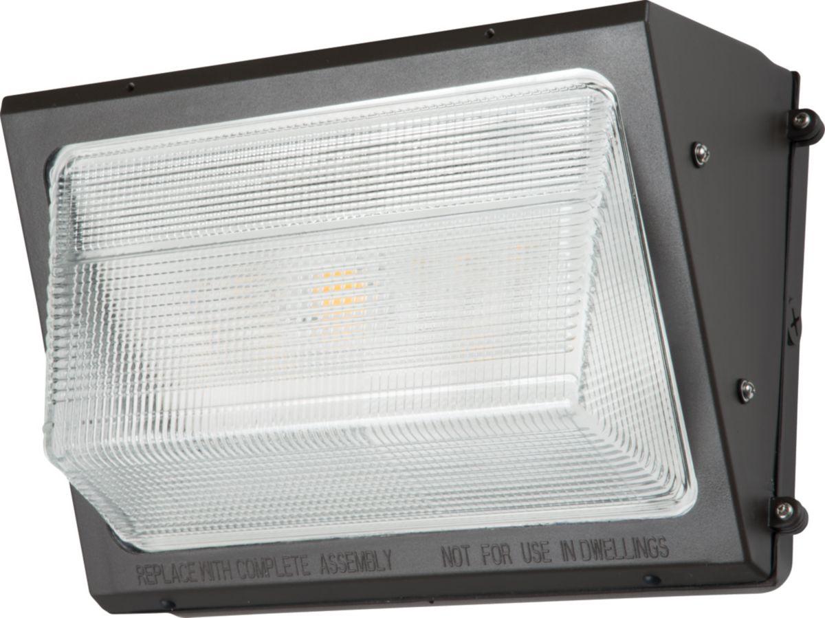 WP, LED, 50W, 4000K, 70 CRI, 120-277V, Bronze
