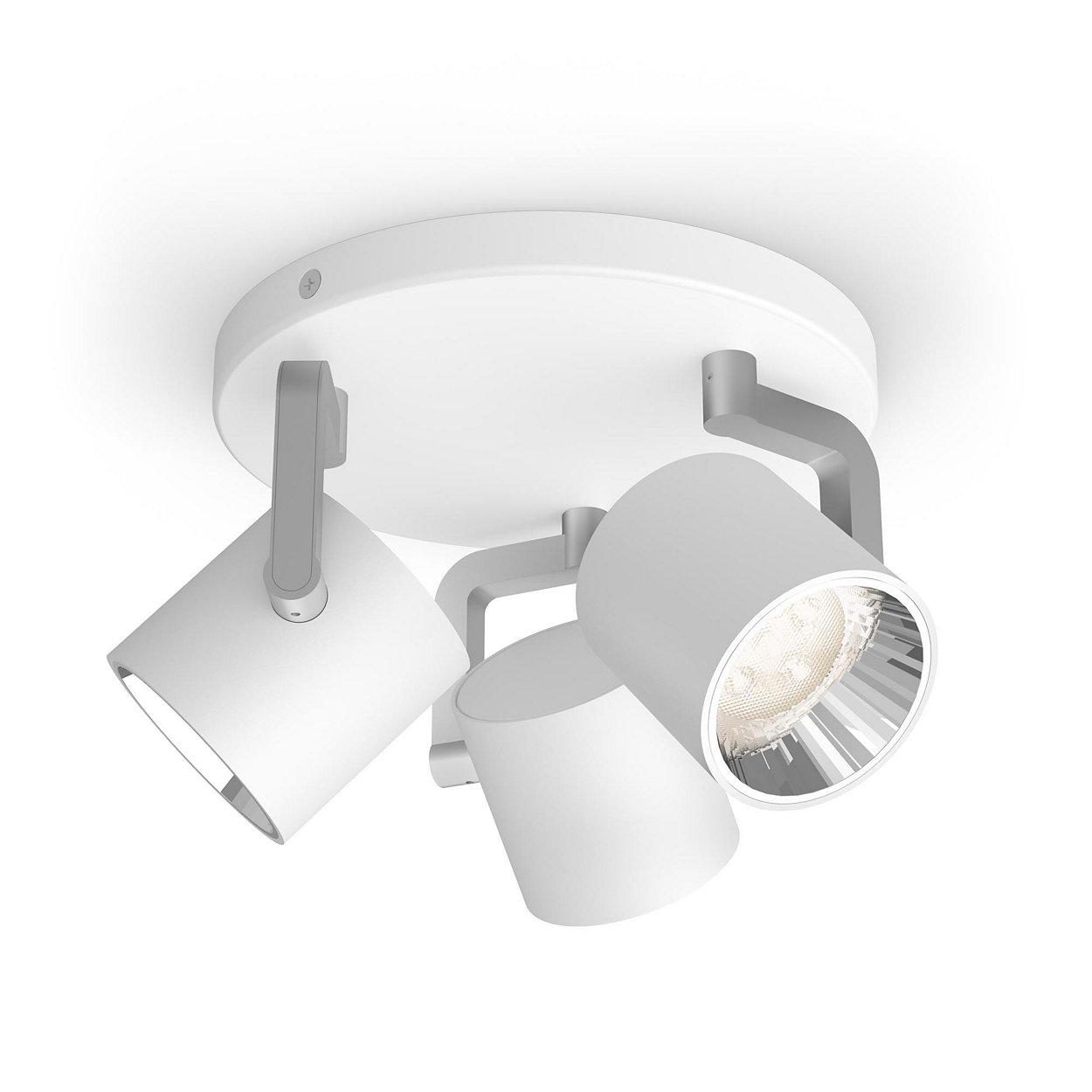 Una lámpara. Tu interruptor. Tres configuraciones de luz.