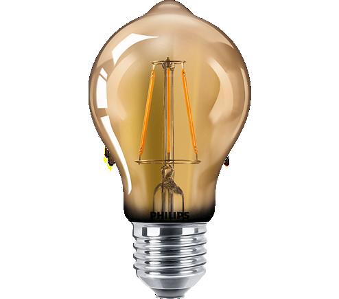LED classic 40W A60 120V E27 GOLD D 1BC