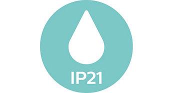 IP21, perfekt för badrummet