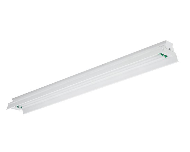 5', 2 Lamp F80T5HO, Painted Polyester Solid Top Reflector