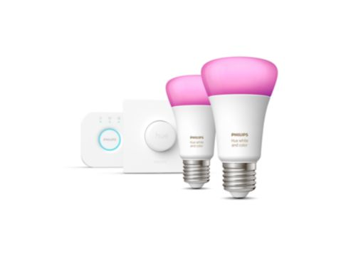Hue White and Color Ambiance Starterkit E27