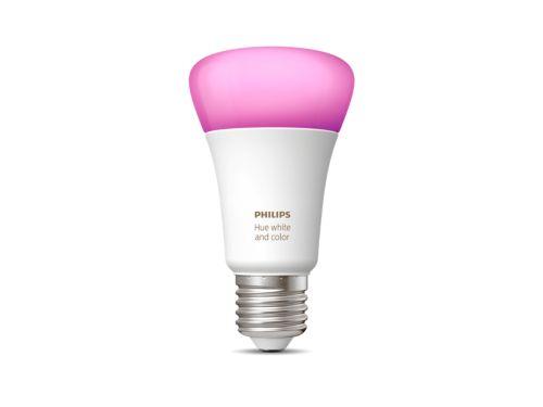Hue White and Colour Ambiance Single bulb E27