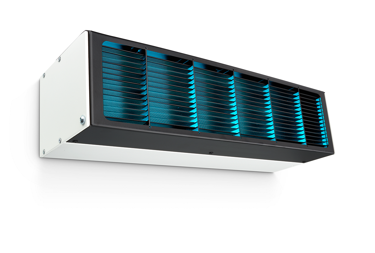 UV-C disinfection upper air WM UV-C disinfection devices - Philips