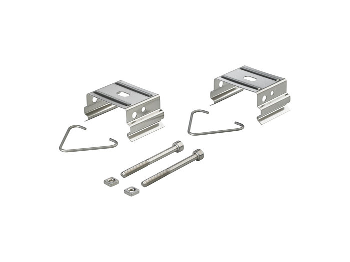Ceiling bracket and anti-vandal screws