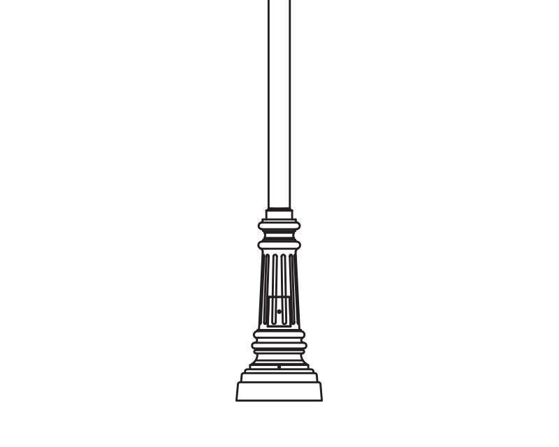 Anchor Base Post (285-)