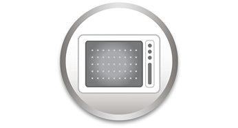 Zur Verwendung in Mikrowellengeräten
