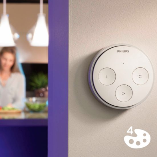 Recall your favorite Philips Hue scenes