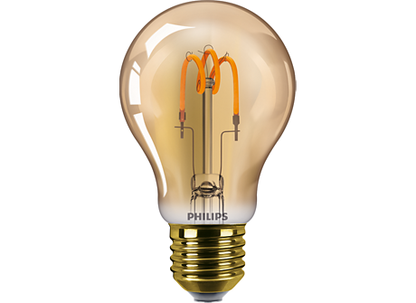 CLA LEDBulb SP ND 2.3-14W E27 GOLD A60CL