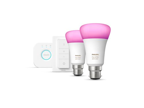 Hue White and Colour Ambiance Starter kit B22